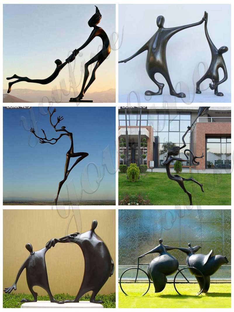 Large Bronze Garden Sculptures