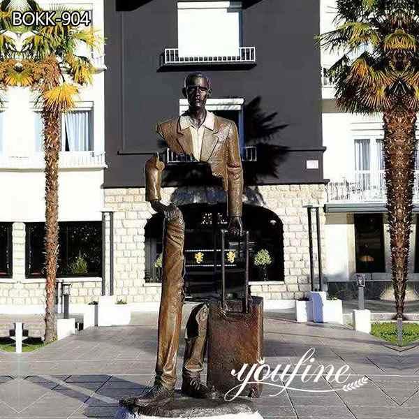 Famous Large Les Voyageurs Bronze Sculpture for Sale BOKK-904