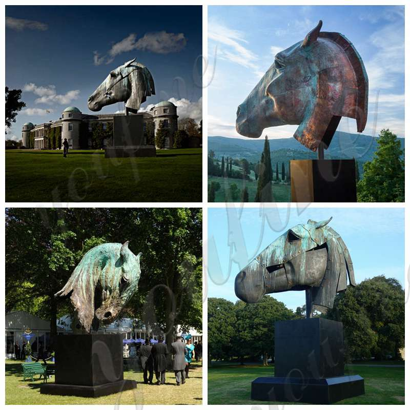 large bronze horse statue for sale