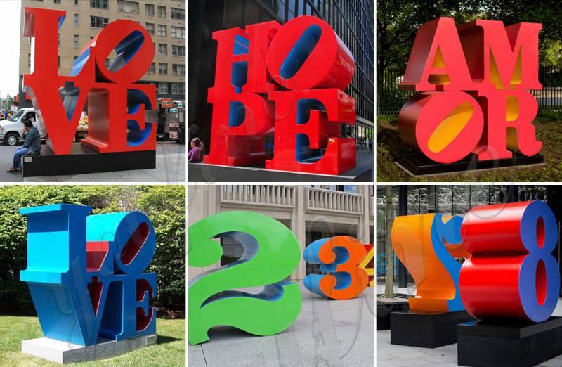 metal outdoor sculptures