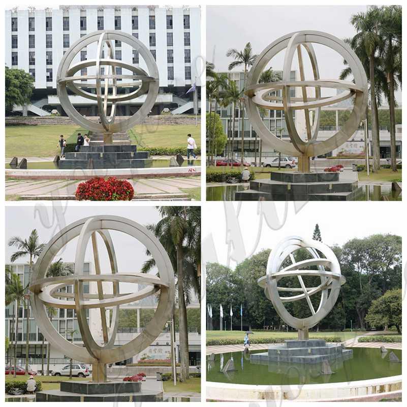 outdoor sculpture for sale metal