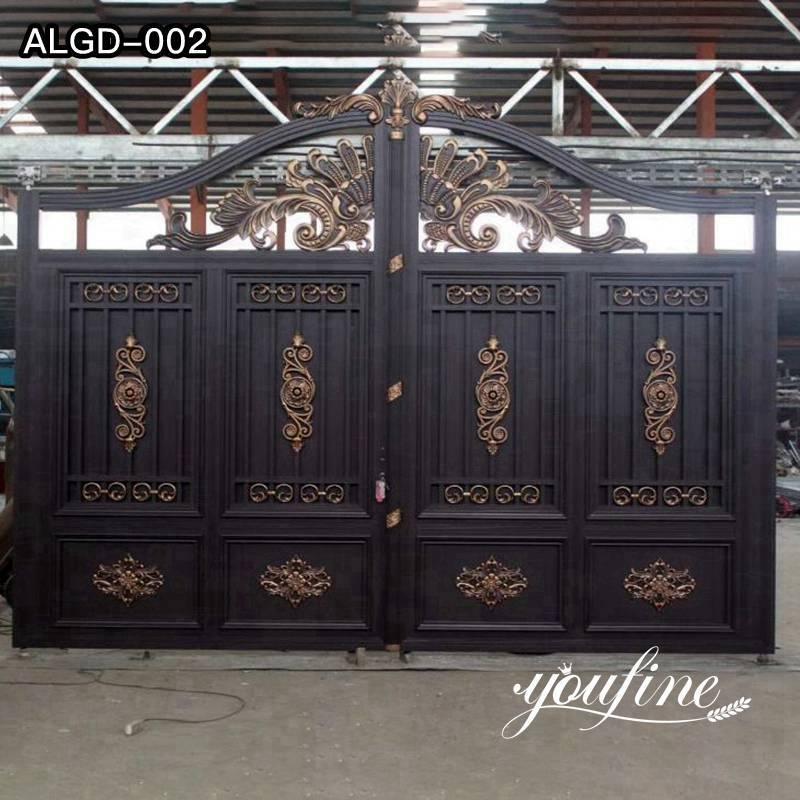 Decorative Casting Aluminum Gate Accessories and Fence Design for Sale ALGD-002