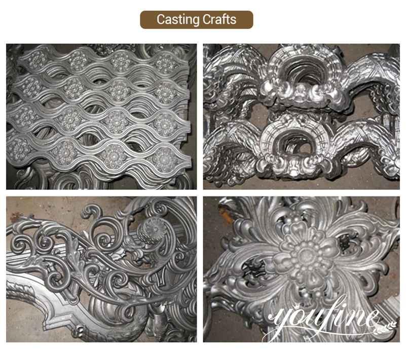 Aluminum Garden Gate Casting crafts