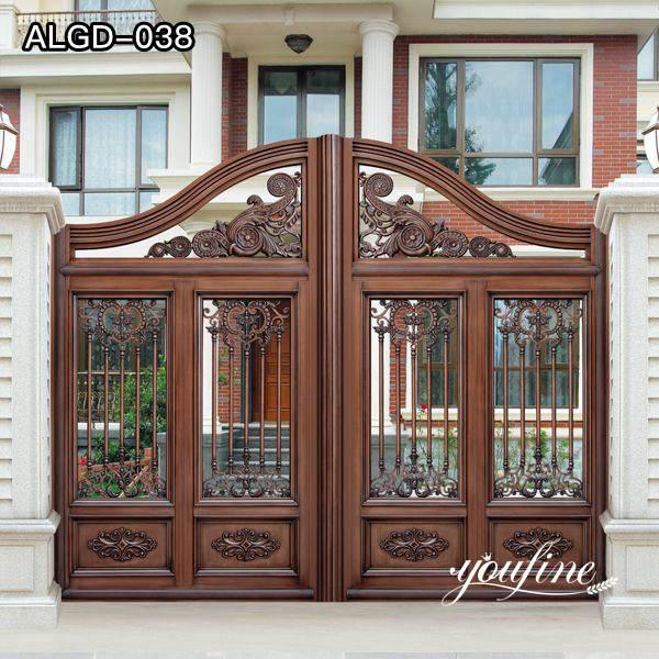 Aluminum Gate Door Garden Decoration for Sale ALGD-038