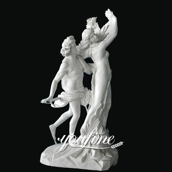 Apollo and Daphne Life Size Marble Statue for Sale MOKK-318