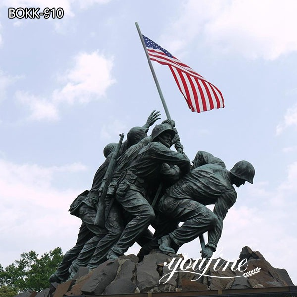 Bronze Military Statues US Marine Corps Memorial for Sale