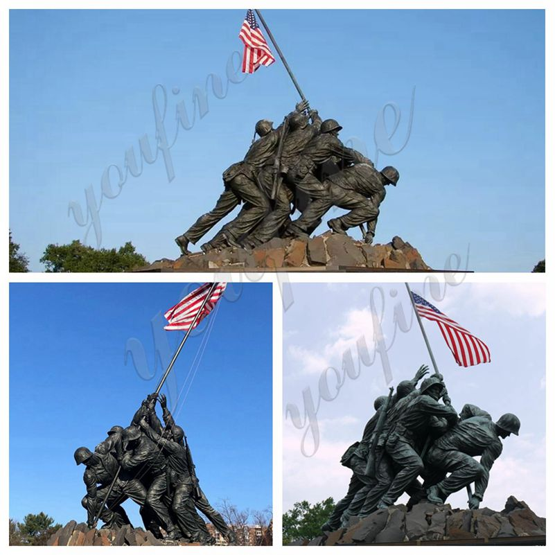 Bronze Military Statues US Marine Corps Memorial