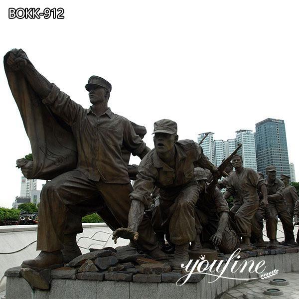Bronze War Memorial Outdoor Military Statues for Sale