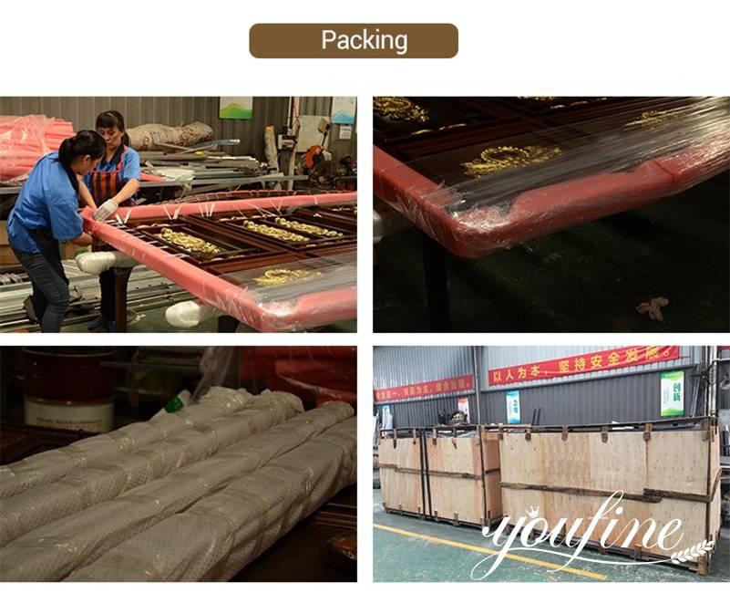 Custom Made Aluminium Gate Door Aluminium Gate Fabrication