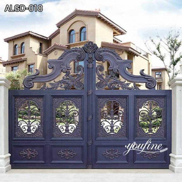 Custom Made Aluminium Gate Door Aluminium Gate Fabrication ALGD-018