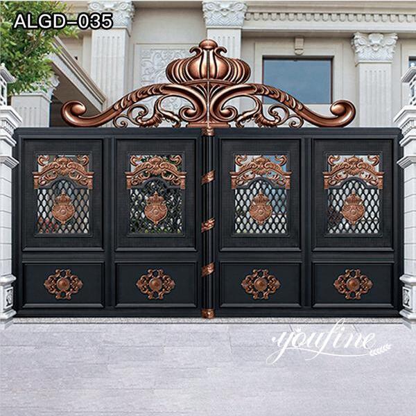 Customized Aluminium Garden Gate for Sale ALGD-035