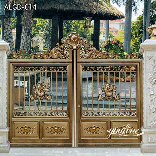 Customized Aluminum Gate Fence for Home Factory Supply ALGD-014