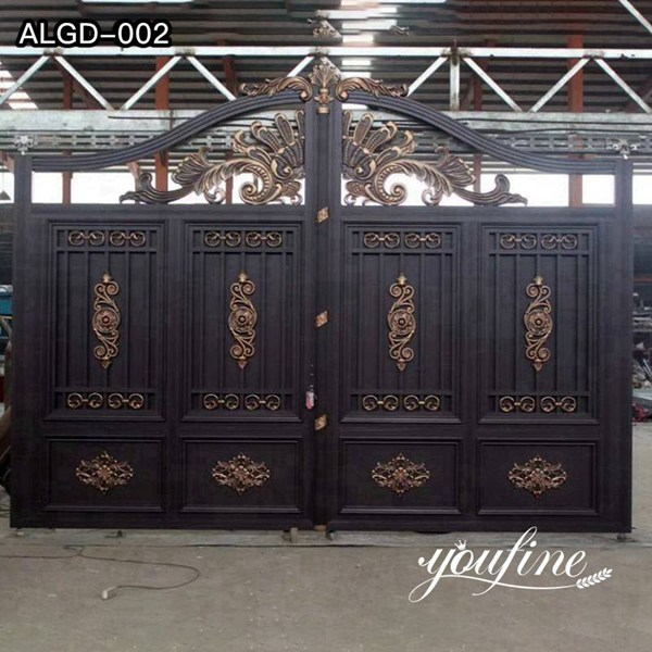 Decorative Casting Aluminum Gate Accessories and Fence Design for Sale ALGD-002