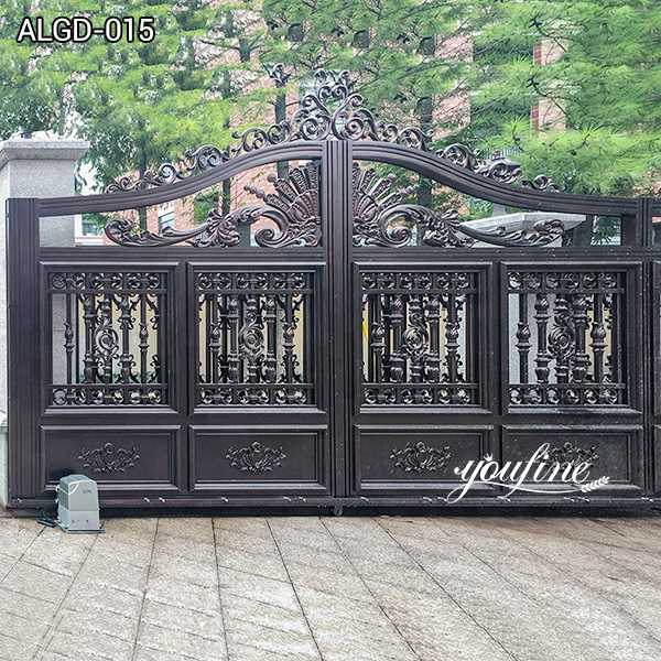 Decorative High Quality Aluminium Gate for Home for Sale