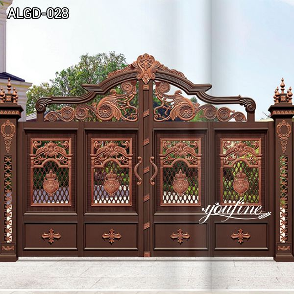 Delicate Aluminium Gate and door Factory for Sale ALGD-028
