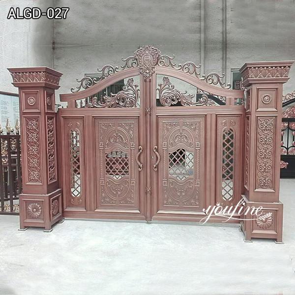 Driveway Decor Aluminium Gates for sale ALGD-027