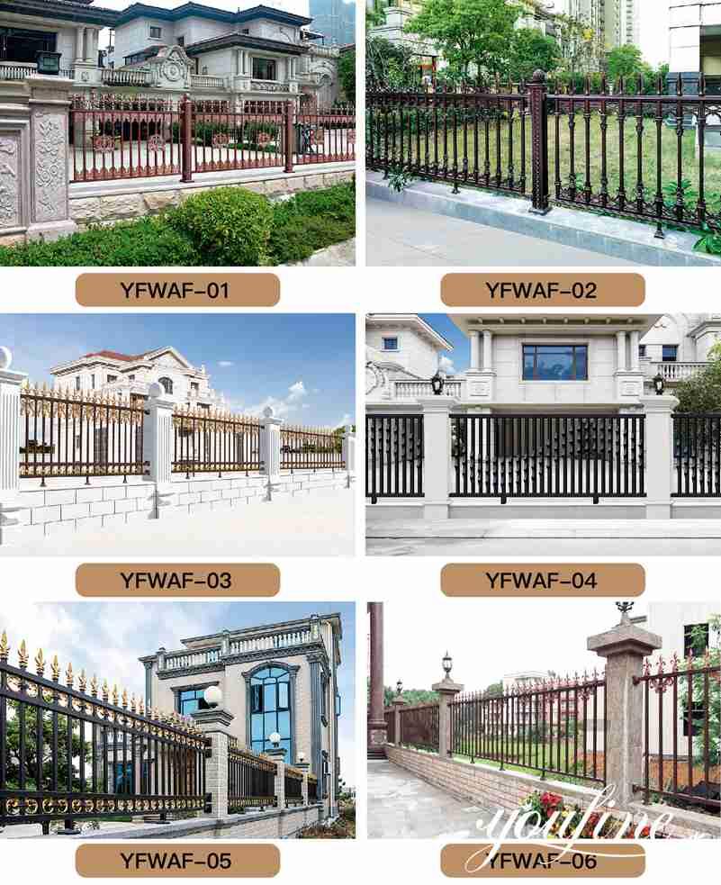 Entrance Decor Beautiful Aluminum Driveway Gate Door