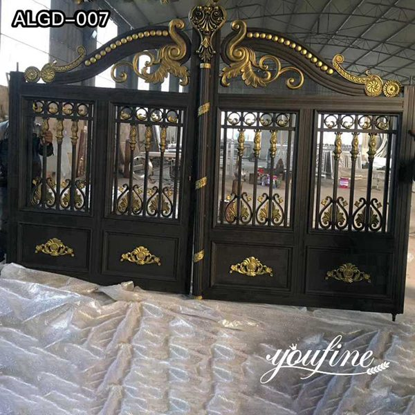 European Style Aluminium Gate for Courtyard Supplier ALGD-007
