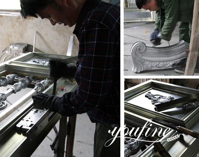 European Style Aluminium Gate for Courtyard Supplier Production Process
