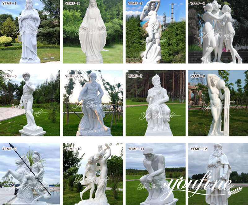 Famous Greek Marble Statue