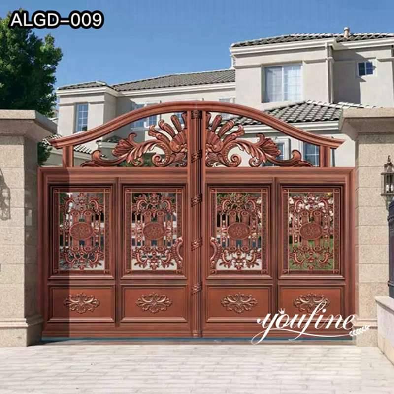 Garden Aluminium Gate Driveway Fence for Sale ALGD-009