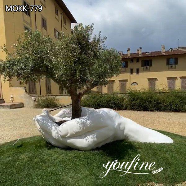 Hands Marble Sculpture for Garden Decor for Sale