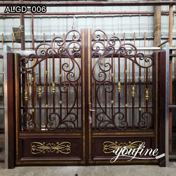High-Quality Customized Aluminum Fence Door Gate for Sale ALGD-006