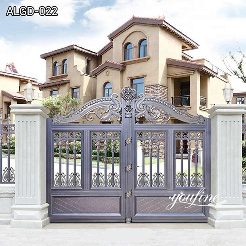 High Quality Driveway Aluminum Garden Gate for Sale ALGD-022