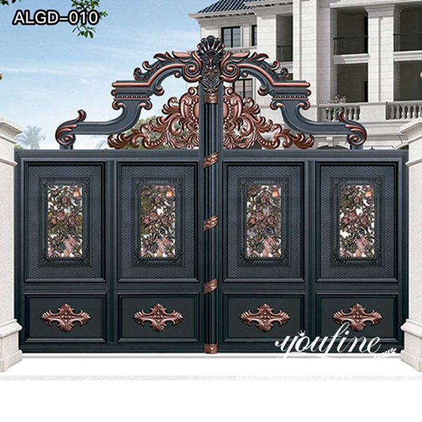 Hot Sale Quality Aluminum Fence Gate Design for Sale ALGD-010