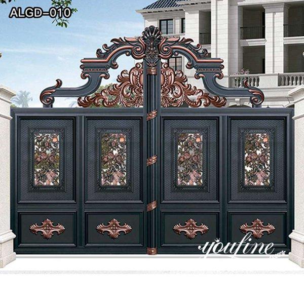 Hot Sale Quality Aluminum Fence Gate Design for Sale ALGD-010