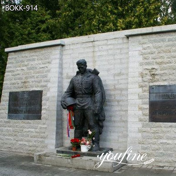 Large Bronze Military Soldier Statue for Memorial Park for Sale