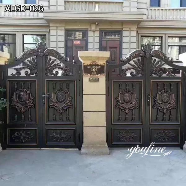 Large Size Aluminium Gate for Driveway Sale ALGD-026