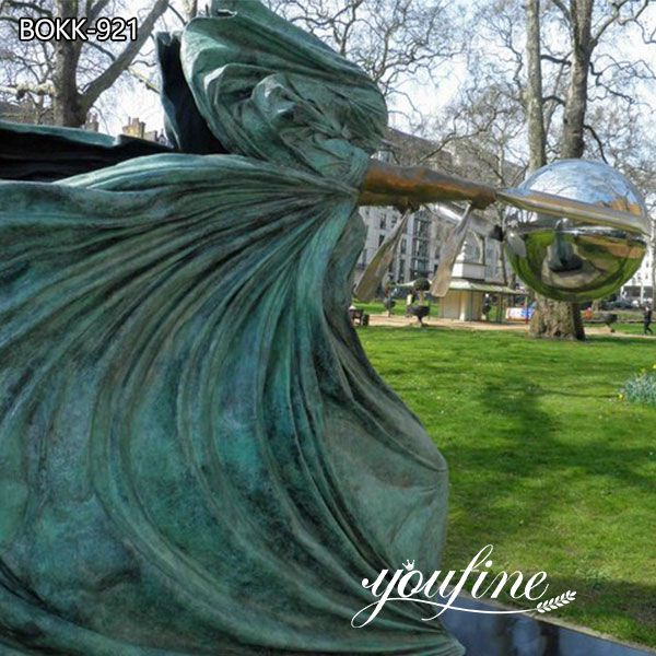 Large The Force of Nature Bronze Sculpture for Sale