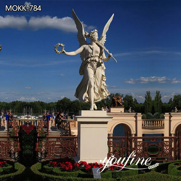 Life Size Angel Marble Garden Statue for Sale