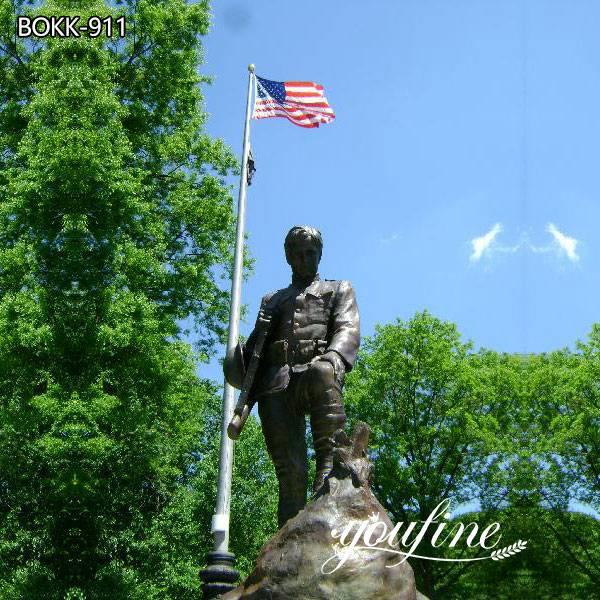 Life Size Bronze Soldier Statue for Sale for Memorial Park Decor