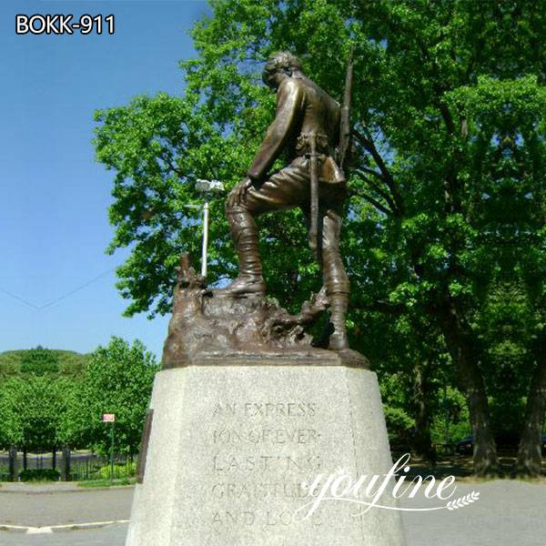 Life Size Bronze Soldier Statue for Sale
