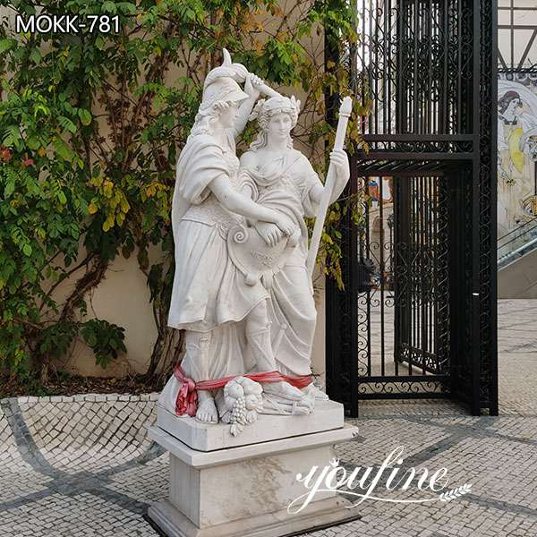 Life Size Figure Marble Garden Statue for Sale