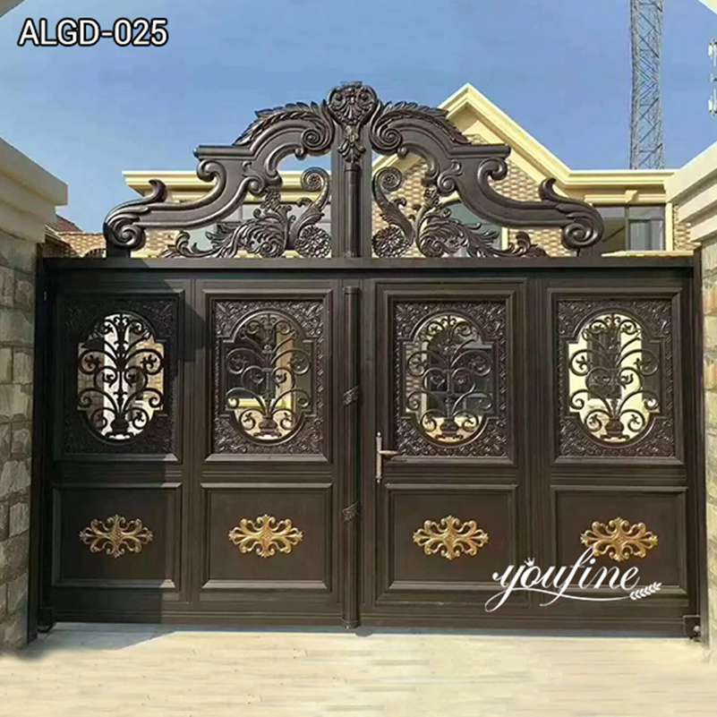 Luxury Large Gate Driveway Gates for Home Decor for Sale ALGD-025