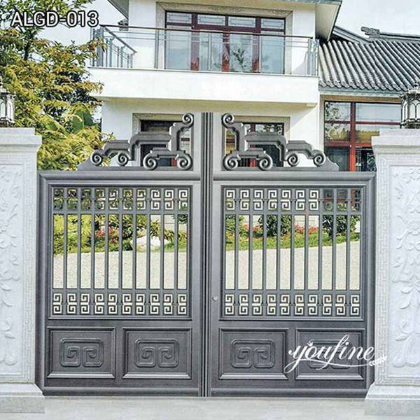 Modern Aluminium Garden Gate for Sale ALGD-013