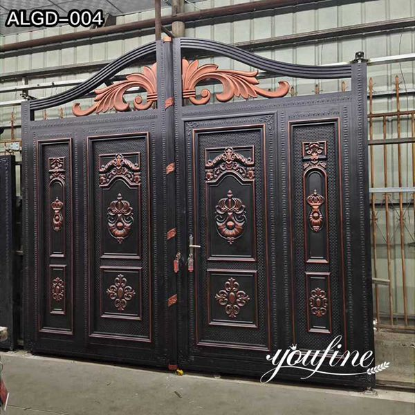 Modern Aluminum Fence Gate Designs for Sale ALGD-004