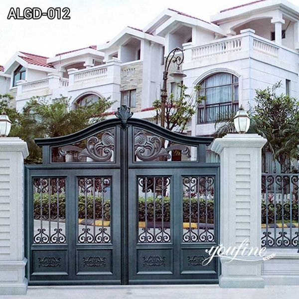 Modern Cheap Aluminum Driveway Gate for Sale ALGD-012