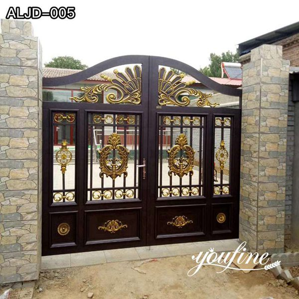 Modern Main Entrance Gate Design Aluminum Gates for Sale ALGD-005