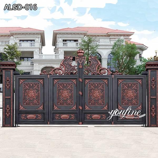 Outdoor Aluminium Garden Gate for Home Decor for Sale ALGD-016