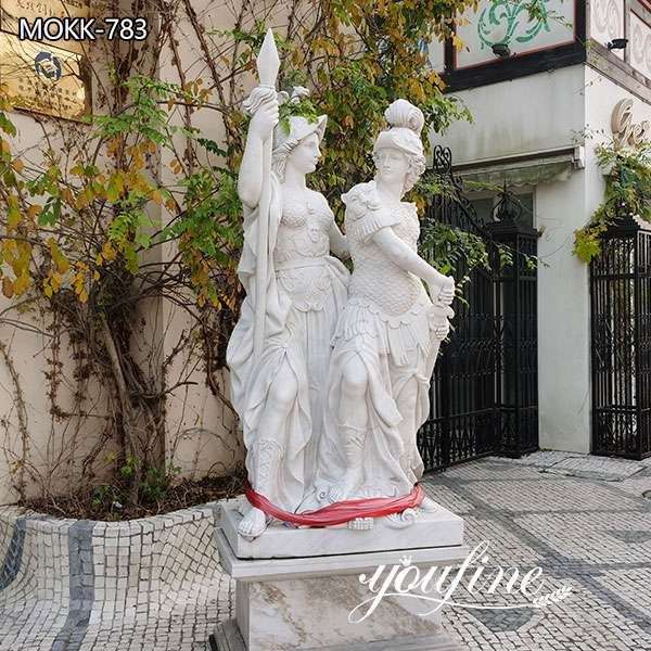 Outdoor Life Size Marble Figure Garden Statues for Sale