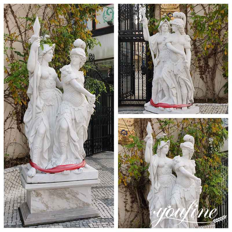 Outdoor Marble Figure Garden Statues for Sale