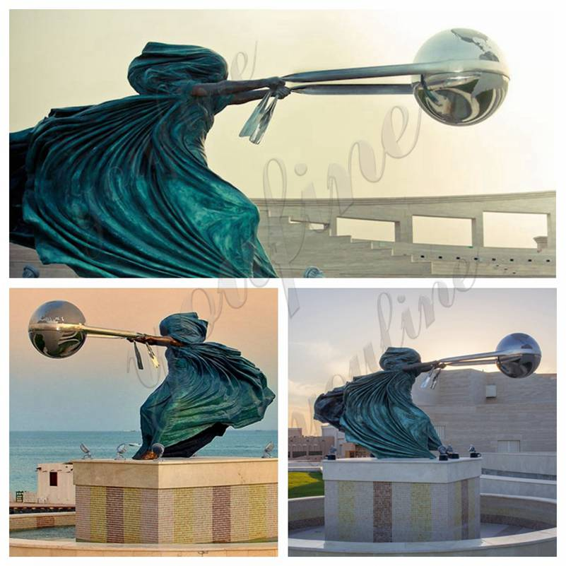 The Force of Nature Bronze Sculpture for Sale
