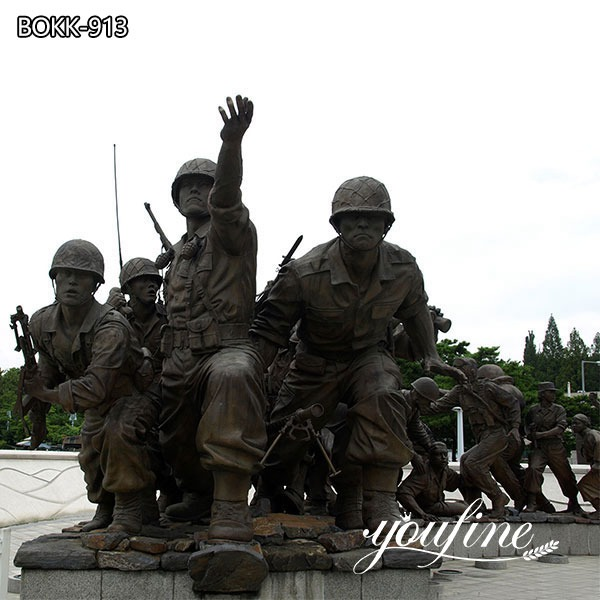 War Memorial Military Bronze Statue Project for Sale