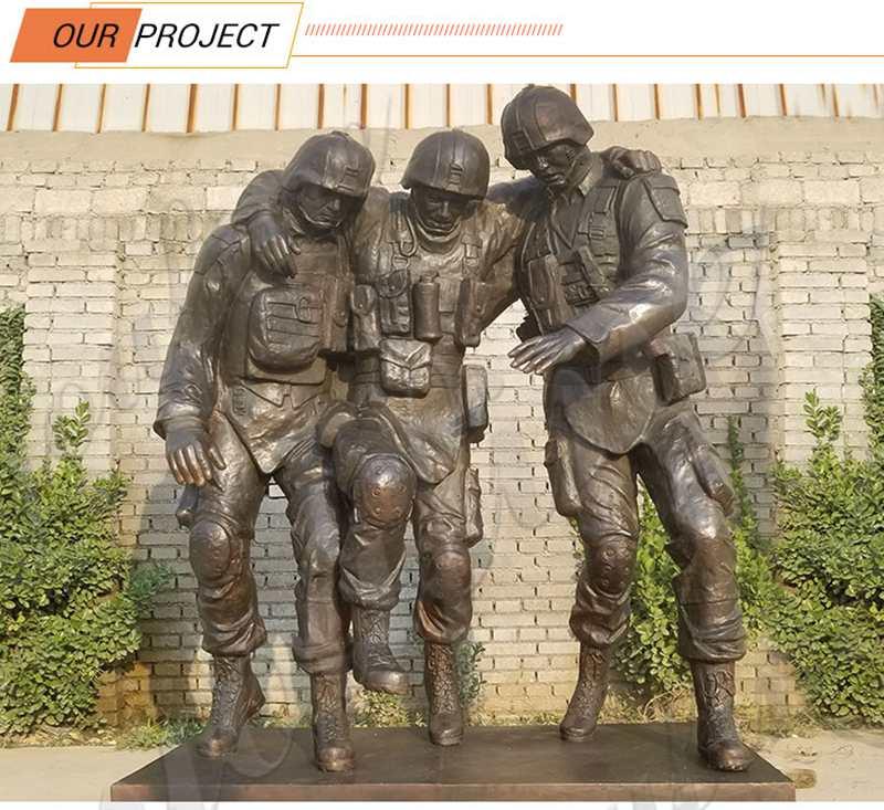 War Memorial Military Bronze Statue Project