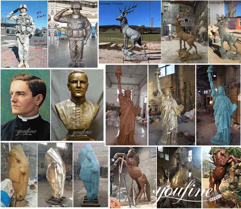 custom bronze sculptures