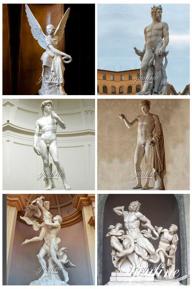 famous marble statue